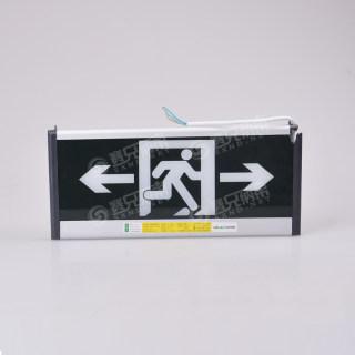 赛兄纳弟 新国标消防安全出口指示灯led插电疏散标志应急灯通道标识指示牌 双面安全出口双向 15*36cm