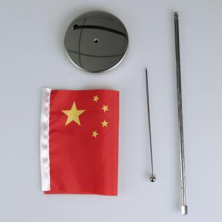 大字 L型伸缩旗 F29-2 银色 28.5*50cm
