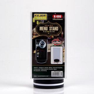 科记 双色旋转酒水牌betway体育平台 K-686 透明色 100*200mm