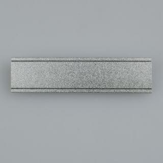 豪得 标示牌胸牌胸卡形象卡 SK-7017   银色 70*17mm