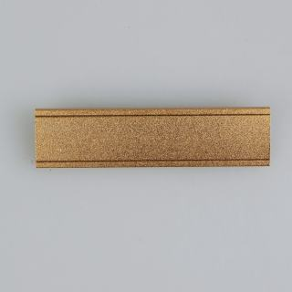 豪得 标示牌胸牌胸卡形象卡 SY-7017   金色 70*17mm