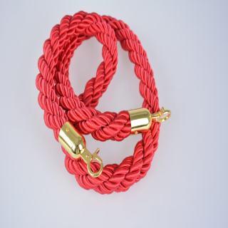 赛兄纳弟 绒绳/麻花绳 红色麻花绳 4*150cm