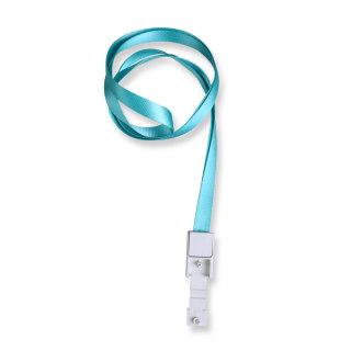 优和 挂绳绳带 6712 浅蓝色 10mm*46cm