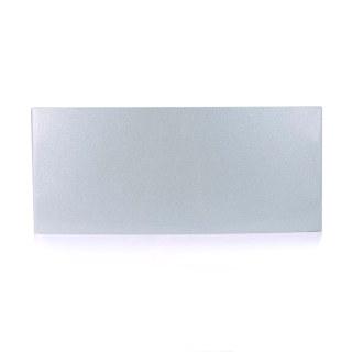 雅芳 铝合金弧形科室牌 银色 13*31cm