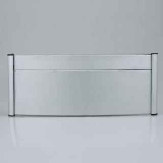雅芳 弧形科室牌 银色 3+9*28cm