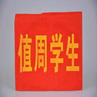 袖套 红色值周学生袖套 14*20cm
