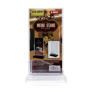 科记 酒水牌 K-6052 透明色 105*210mm