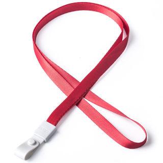 瑞普 软胶扣涤纶挂绳 7723 红色 10mm
