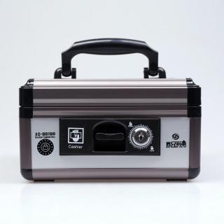 赛兄纳弟 收银箱 XD-BB198 铁灰色 210*210*115mm
