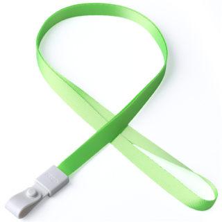 瑞普 软胶扣涤纶挂绳 7723 荧光绿 10mm