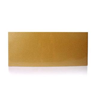 雅芳 铝合金弧形科室牌 金色 13*31cm
