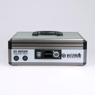 "betway必威体育app 收银<span style=""color:red"">箱</span> XD-BB598 铁灰色 338*268*115mm"