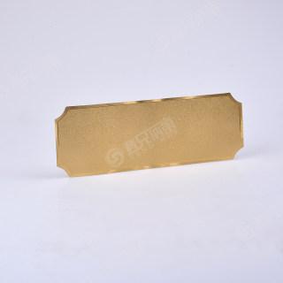 yabo亚博电竞下载 金箔纸 长条缺角空白 270*110mm
