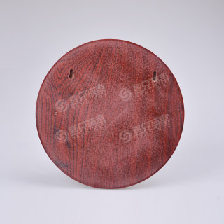 betway必威体育app 门牌红木 圆形红木 30*30cm
