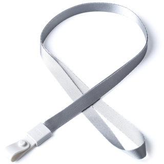 瑞普 软胶扣涤纶挂绳 7723 浅灰 10mm