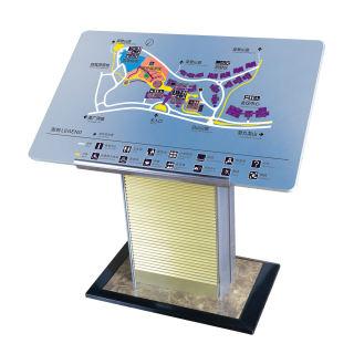 蜻蜓 展示架落地式总平面牌 楼层导示牌 A1-b 950*600*950