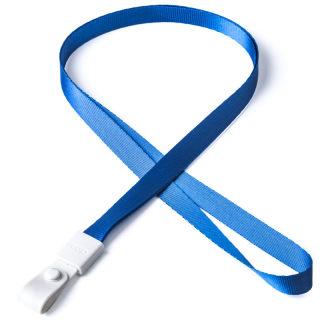 瑞普 软胶扣涤纶挂绳 7723 深蓝 10mm