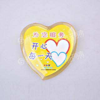 betway必威体育app 微笑胸牌 RK09黄色 47*51mm
