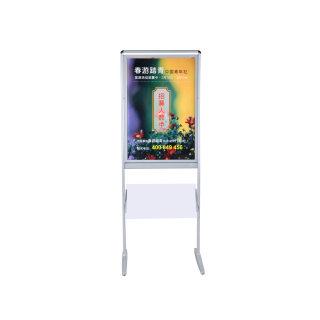 蜻蜓 金属双面指示牌引导牌betway必威体育app|官方下载 A85 画面规格505*775mm 600*1580*420mm