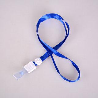 科记 直身扣 K-1299  蓝带白扣珠 1.2cm