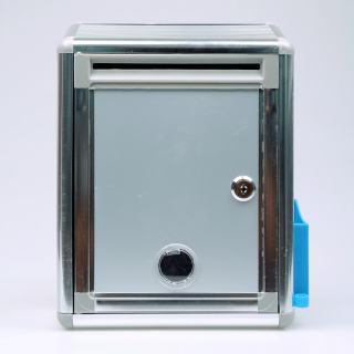 赛兄纳弟 意见箱 XD-BB09  空白银色 215*120*290mm