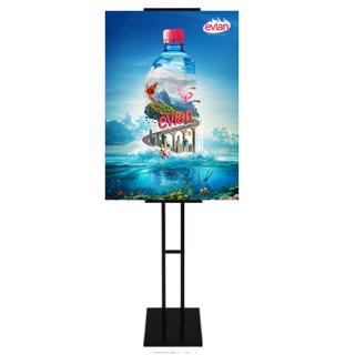betway必威体育app H型挂画架 黑色 铁 0.9-1.8米(画面高)铁