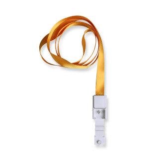 优和 挂绳绳带 6712 黄色 10mm*46cm