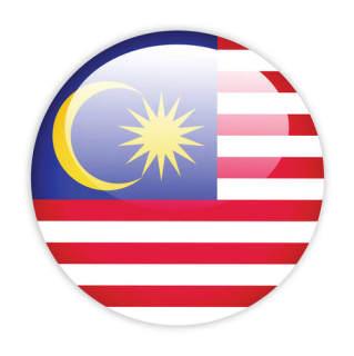 赛兄纳弟 外国旗 马来西亚国旗4号 .-标 准.