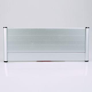雅芳 单面铝边 银色 3+9*28cm