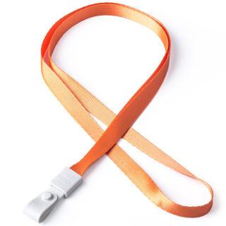 瑞普 软胶扣涤纶挂绳 7723 橙色 10mm