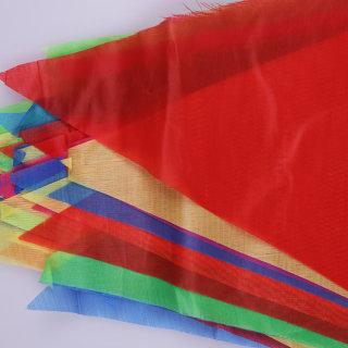 赛兄纳弟 三角串旗 (小号)红色 棉布 180*250mm