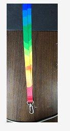 赛兄纳弟 挂绳 七彩条纹挂绳2.0cm .-标准.