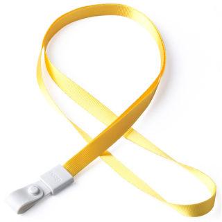 瑞普 软胶扣涤纶挂绳 7723 黄色 10mm