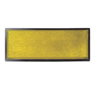 赛兄纳弟 黑边金箔提示牌 空白 28.2*11.3cm