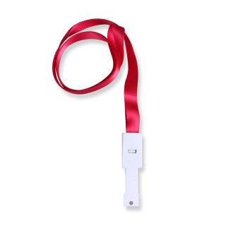 优和 挂绳绳带 6712 玫红色 10mm*46cm