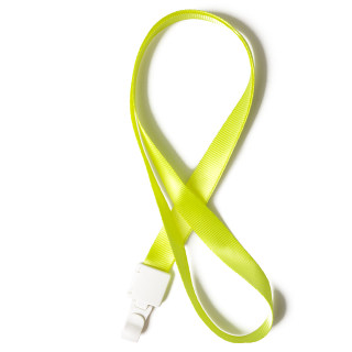 优和 1.5挂绳 6761 黄绿 15mm*46cm
